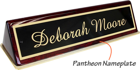 Pantheon Name Plates