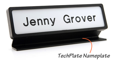 TechPlate Name Plates