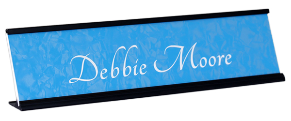 Economical nameplates are only $5.99 each.